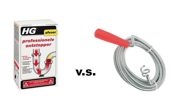 Ontstopper vs Ontstoppingsveer