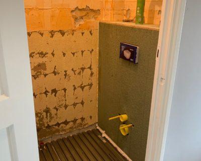 Badkamer verbouwing – 3