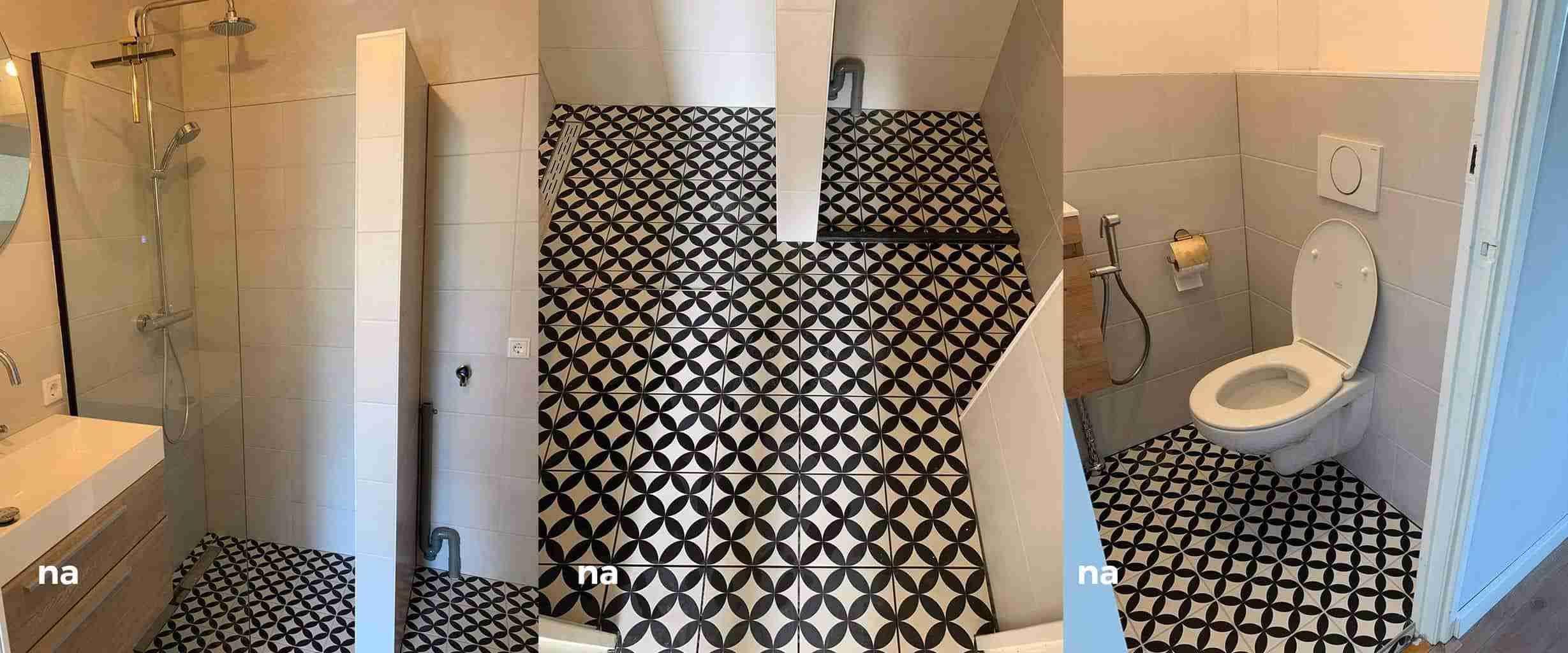 Badkamer & Toiletverbouwing het eind resultaat | Installatie Service Amsterdam